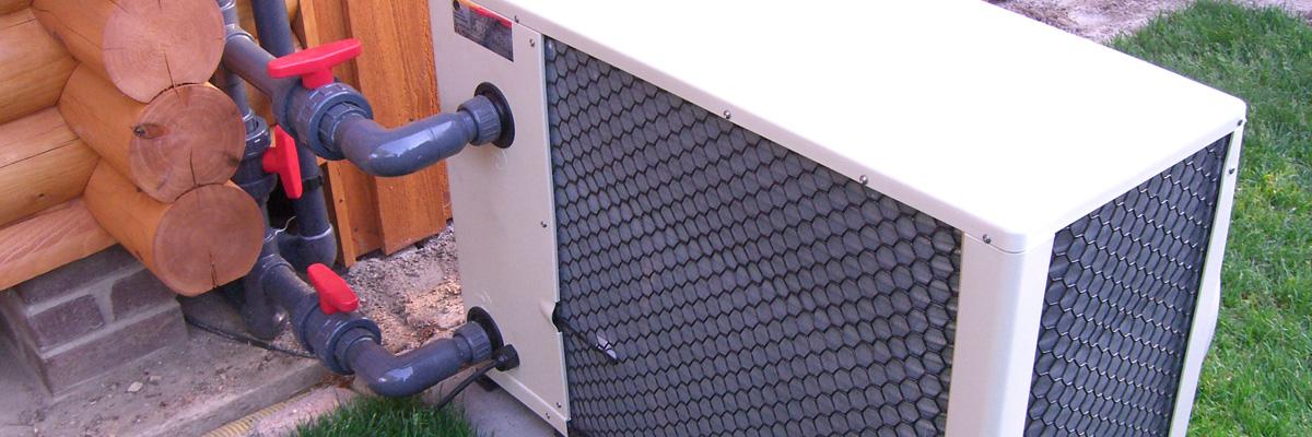 Zodiac Luftwärmepumpe Verrohrung